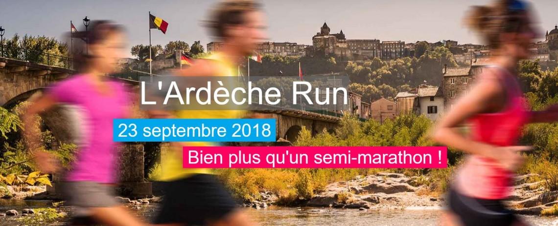 Ardèche Run (course route)