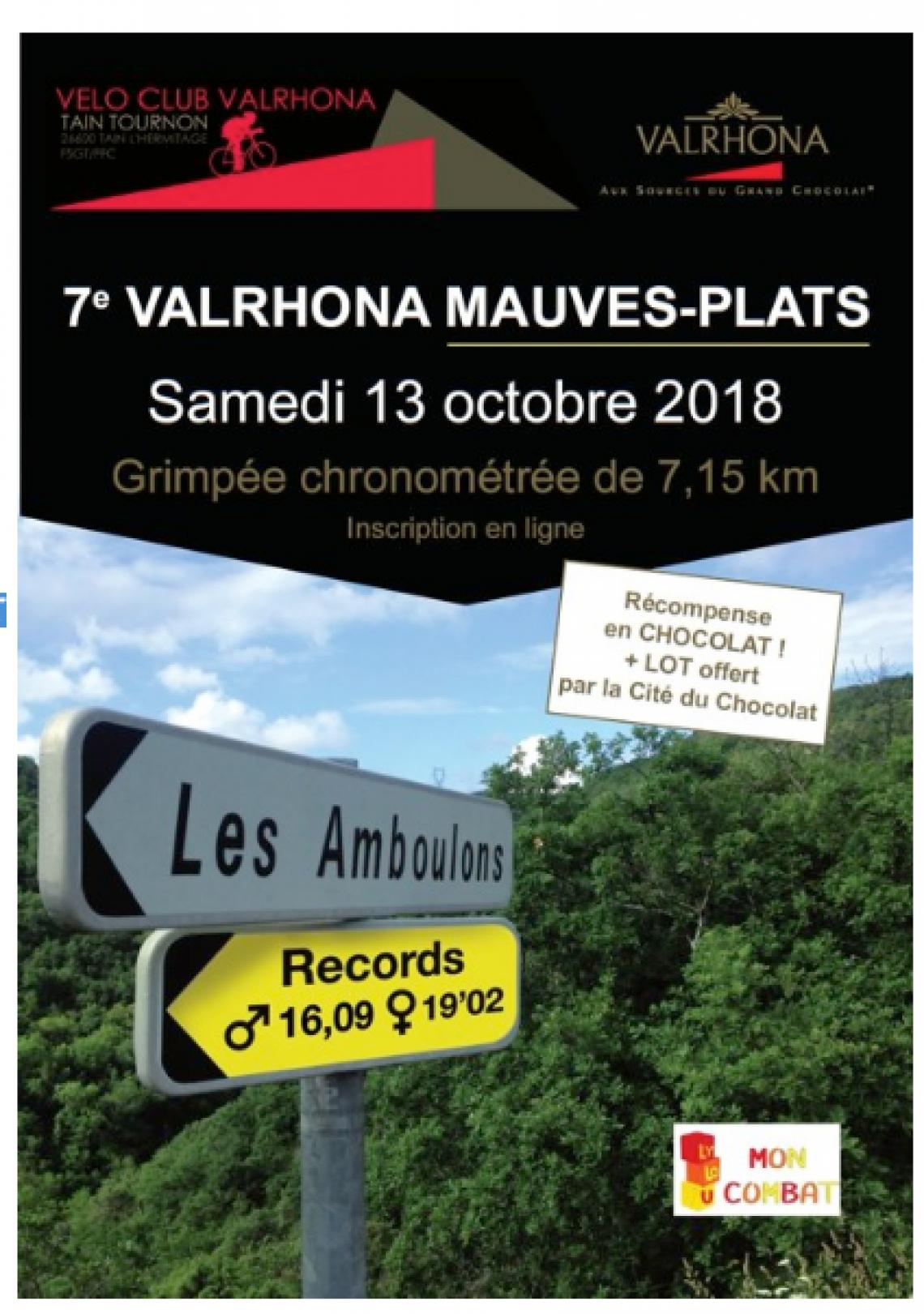 7eme Valrhona MAUVES-PLATS