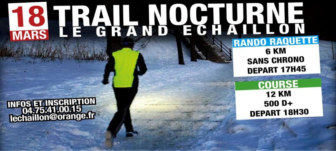 Trail nocturne du Grand Echaillon